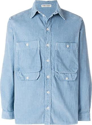 Henrik Vibskov Camisa com bolsos - Azul