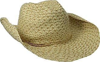 San Diego Hat Company Womens Cowboy Hat with Lurex Paper and Metallic Trim a3720c25ae3a