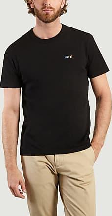 Ami Schwarzer Freund BBR Stickerei-Baumwollt-shirt - cotton | Size XL | black - Black/Black
