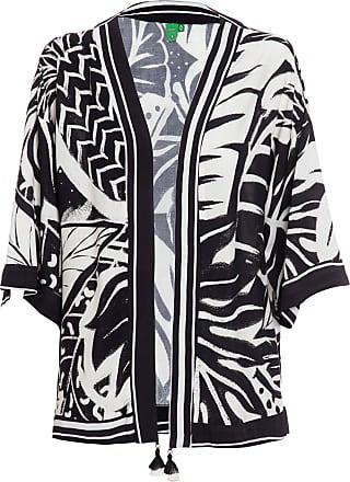 Farm Kimono Sombra De Praia - Preto