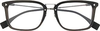 Fendi Armação para óculos quadrada - Preto
