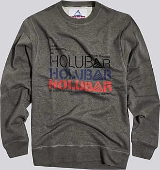 HOLUBAR sweatshirt triple logo bf12 gray