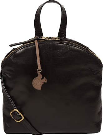 Pure Luxuries London Conkca London Ingrid Womens 22cm Biodegradable Leather Cross Body Bag with Zip Over Top, 100% Cotton Lining, Adjustable Leather Strap and Matching Lea