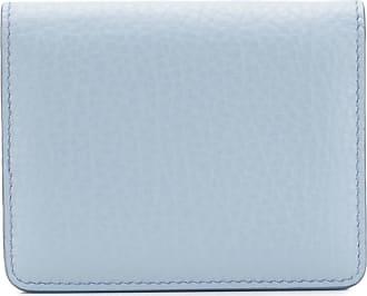Maison Margiela Porta-cartões com fecho por encaixe - Azul