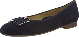 Ara Womens Sardinia 1231332 Closed Toe Ballet Flats, Blue Blau 02, 6.5 UK
