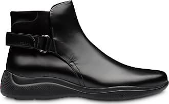 Prada Ankle boot com tira posterior - Preto