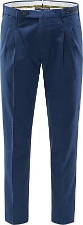 Pantaloni Torino Chambray-Hose Colonial Party Bombay Hills Preppy Fit dunkelblau