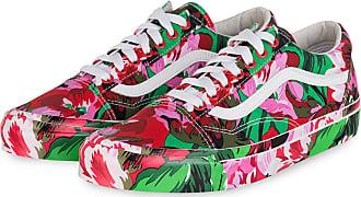 Kenzo Sneaker OLD SKOOL - ROSA/ GRÜN/ ROT