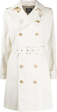 A.P.C. Trench coat com abotoamento duplo - Neutro