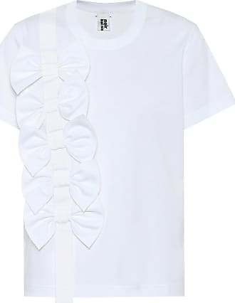 Comme Des Garçons Embellished cotton T-shirt