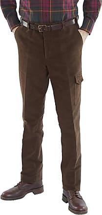 Franken & Cie. Field trousers moleskin, brown