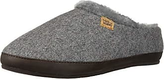 Freewaters Womens Chloe House Shoe Slipper with Happy Arch Support and Durable Indoor/Outdoor Sole, Heather Grey ii, S Medium US