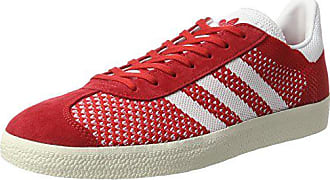 adidas Herren Gazelle Primeknit Sneaker, Rot (Scarlet Footwear Chalk  White), 44 5efcabfd42