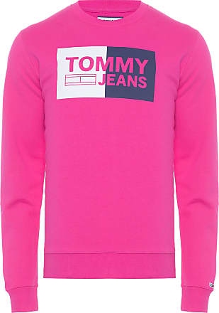 Tommy Jeans BLUSA MASCULINA ESSENTIAL LOGO - ROSA