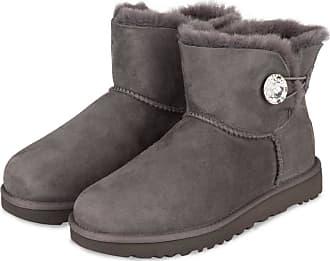 Billige Ugg Boots UGG Bailey Button Bling Damen Schwarz