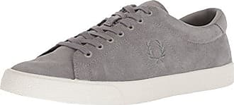 01f2eb9722d665 Fred Perry Mens Underspin Suede Crepe Sneaker