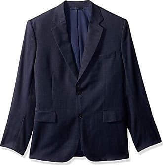 J.Lindeberg Mens Fancy Wool Blazer, mid Blue, 54