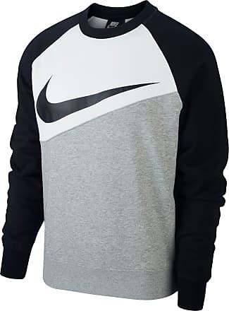 PULLOVER RUNDHALS HERREN Nike M CRW FLC TM CLUB19 grau