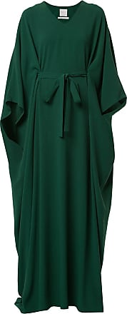 Ingie Paris Vestido kaftan longo - Verde