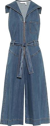 See By Chloé Denim stretch-cotton jumpsuit