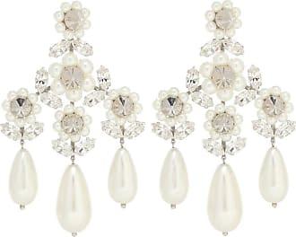 Simone Rocha Embellished faux-pearl earrings