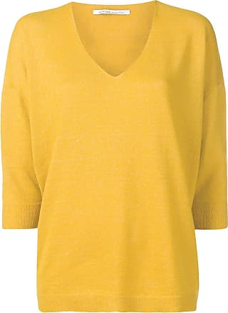 Agnona classic knit sweater - Yellow