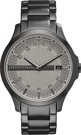 A|X Armani Exchange Relógio Quartz Hampton - Homem - Cinza - Único IT