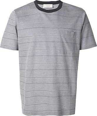 Cerruti chest pocket striped T-shirt - Grey