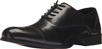 Unlisted by Kenneth Cole Mens Steel-Home Oxford, Black, 10 UK