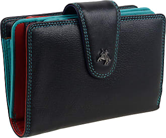 Visconti Quality LADIES Soft LEATHER Medium PURSE WALLET by Visconti; Spectrum Collection Boxed
