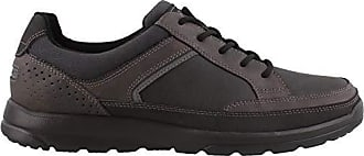 Rockport Mens Welker Casual Lace Up Shoe, iron, 8.5 M US