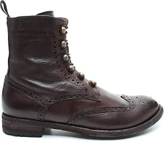 Officine Creative Womens Ankle Boots Lexikon/131 Leather Brown