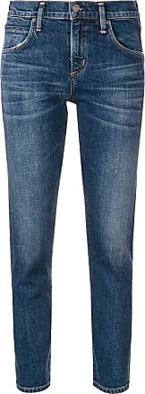 Citizens Of Humanity cropped straight leg jeans - Blue