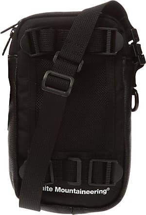 White Mountaineering Logo Shoulder Bag Mens Black