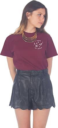 Sanfran Clothing Sanfran - I Need My Space Pocket T-Shirt - Large/Maroon