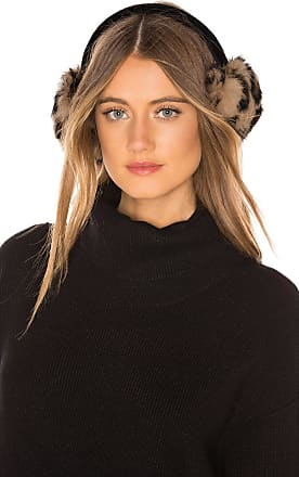 Hat Attack Luxe Knit Rabbit Earmuffs in Brown