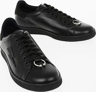 Neil Barrett Leather PIERCED PUNK Sneakers size 41
