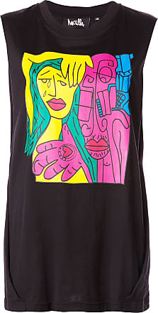 Haculla relaxed fit tank top - Black