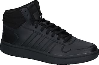best website 2cb3f 9ff10 adidas Zwarte Hoge Sneakers adidas Hoops 2.0