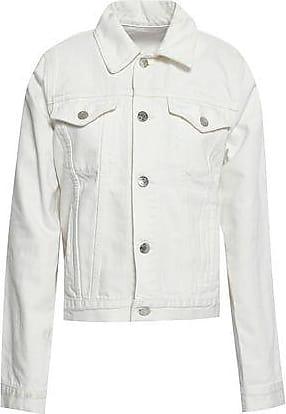 Helmut Lang Helmut Lang Woman Denim Jacket White Size XS