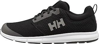 Helly Hansen Mens Feathering Boating Shoes, Black (Black/White 990), 9.5 UK 44.5 EU