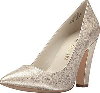 195c38bf1d78 Anne Klein Womens Hollyn Leather Pump Light Gold 7 M US