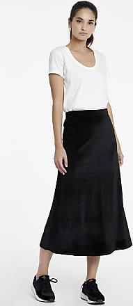 Sugarfree Black midi high waist skirt