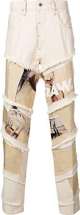G-Star Raw Research Deer print jeans - Neutro