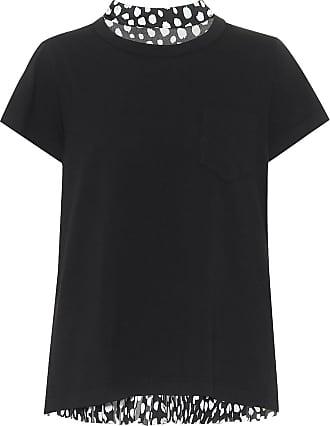 sacai T-Shirt aus Baumwoll-Jersey
