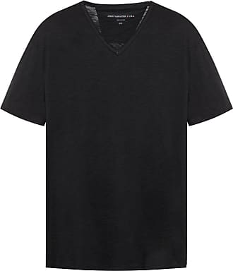 John Varvatos V-neck T-shirt Mens Black