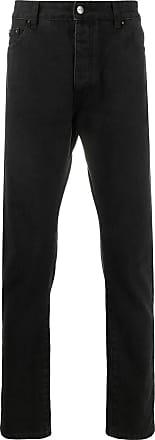 Palm Angels Black straight leg jeans