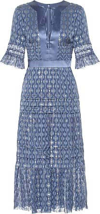 Temperley London Suki silk blend midi dress