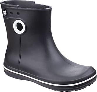 5189ba75609979 Crocs Womens Ladies Jaunt Shorty Boots (3 UK) (Black)