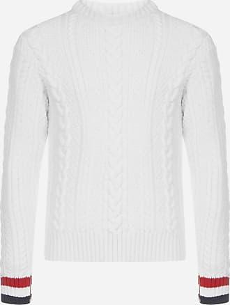 Thom Browne Cable-knit merino wool sweater - THOM BROWNE - man
